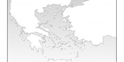 carte grèce antique vierge Grèce   Hellas carte Cartes de la Grèce   Hellas (Sud de l'Europe